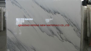 White Marble Slab Cut to Tiles Stair Steps Flooring Tiles pictures & photos