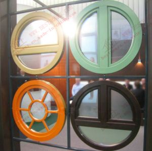 Colored Round UPVC/PVC Windows (BHP-RW11) pictures & photos