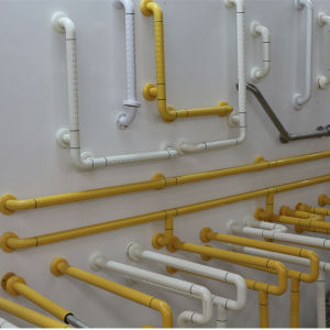 Nylon Bathroom Grab Bar with Straight Shape pictures & photos