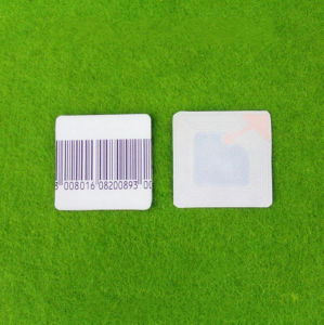 4*4 Anti-Theft Label EAS RF Barcode Label pictures & photos