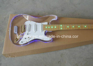 Afanti Music / Acrylic Electric Guitar (AAG-025) pictures & photos