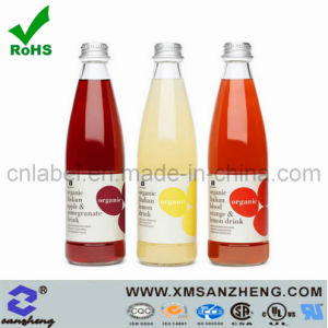 Waterproof Juice Bottle PVC Decals Wine Printing Label Barcode Adhesive Stickers pictures & photos