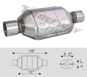 Threeway Universal Catalytic Converter for Cars and Trucks pictures & photos