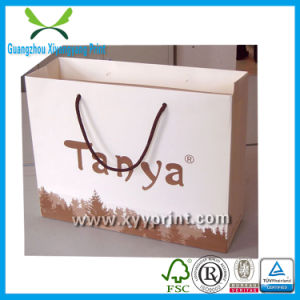 Custom Brown Kraft Paper Bag Low Cost Paper Bag Wholesale pictures & photos