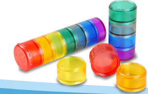 7-Day Plastic Pill Box in Popular Color pictures & photos