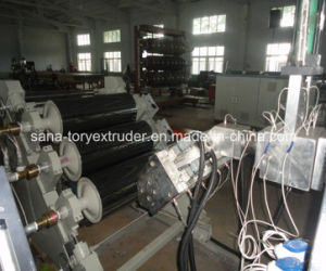 PVC Plastic Free Foaming Sheet Extrusion Machinery pictures & photos