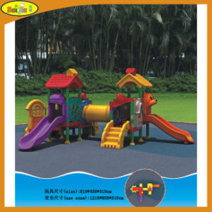 2015 Commercial Park Plastic Kids Outdoor Playground