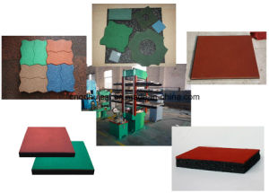 Rubber Home Floor Mat Making Machine, Brick and Tile Making Machine pictures & photos