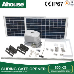 Ahouse DC 24V Sliding Gate Opener, Sliding Gate Opener, Solar Sliding Gate Opener, 800kg Sliding Gate Opener (SD) CE/IP66