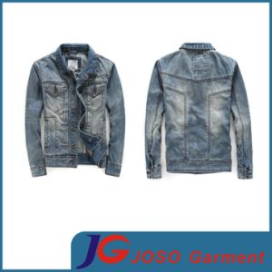 Stone Wash Men Denim Jacket (JC7031) pictures & photos