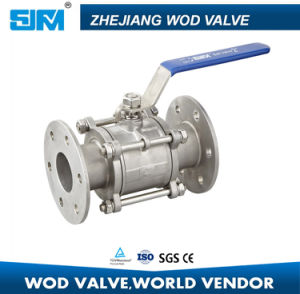 Stainless Steel PTFE Flanged Ball Valve Q41f (valvula de brida) pictures & photos