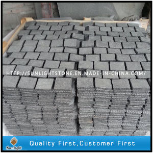Flamed 684 Black Flower Basalt Granite Cube/Cobble/ Paving Stone pictures & photos