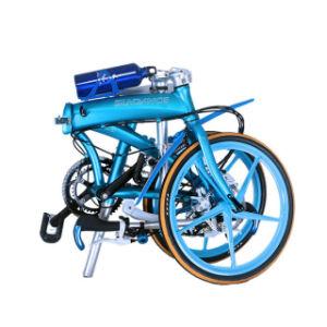 Ultralight Titanium Folding Bicycle with Single Speed