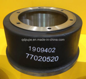 Truck Parts OEM 1909402 77020520 Truck Brake Drum for BPW/Benz/Man/Scani pictures & photos