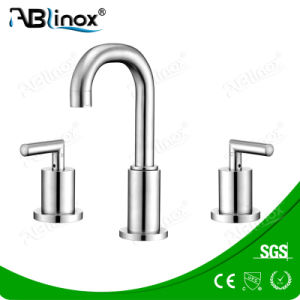 Stainless Steel Contemporary Basin Faucet (AB015) pictures & photos
