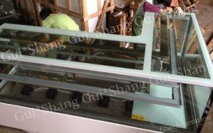 Corner Glass Display Case (refrigerator)