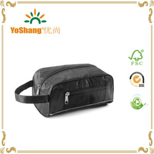 Factory Price Nylon Travel Cosmetic Toiletry Bag Made in China pictures & photos