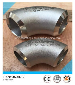 Stainless Steel 90deg Lr Seamless Pipe Elbow pictures & photos
