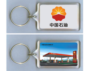China Supplier Customized Plastic Key Chains pictures & photos