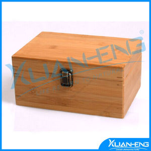 Bamboo Tea Bag Storage Serving Box pictures & photos