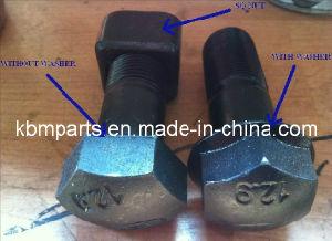 Track Bolt&Nut for Excavator/Bulldozer (M12/M14/M16/M18/M20/M22/M24) pictures & photos