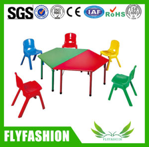 School Single Design Study Table and Chair (SF-103S) pictures & photos