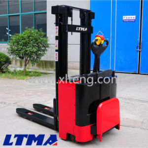 Factory Price 2t 2m Hydraulic Manual Electric Pallet Stacker pictures & photos