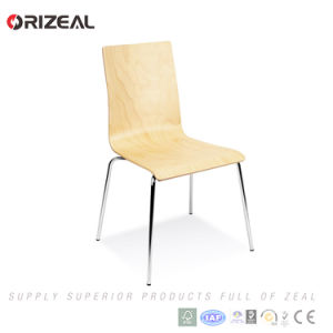 French Style Stacking Wood Dining Restaurant Chair Oz-1002 pictures & photos