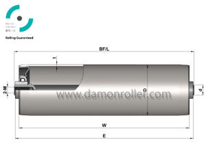 Gravity Light/Medium Duty Conveyor Roller (1100) pictures & photos
