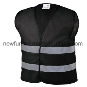 Polyester Mesh and Zip Fasten High Visibility Jacket Reflective Vest pictures & photos