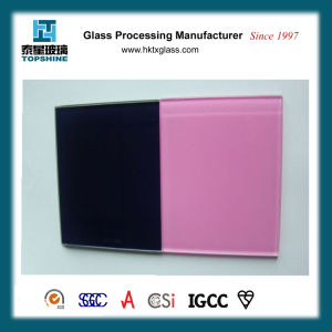 Painted Tempered Glass for Hotel Decorative Glass Wall pictures & photos