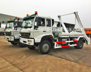 10-15m3 Roll-off Skip Loader Garbage Truck pictures & photos