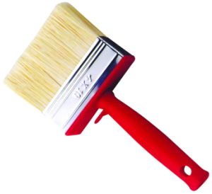 Black and Red Plastic Handle Ceiling Paint Brush pictures & photos