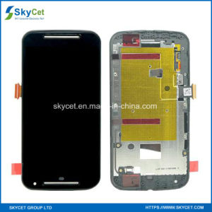 Original Mobile Phone LCD with Frame for Moto G2/HTC/Huawei/LG pictures & photos