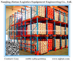 Heavy Duty Drive-in Pallet Racking for Warehouse Storage System pictures & photos