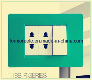 Egyptian/Jordan 45A Air Conditioner Switch/Wall Switch /One Gang Switch pictures & photos