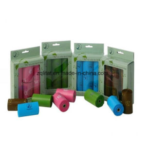 Cornstarch Made Biodegradable Compostable Dog Poop Bags Custom Printed pictures & photos