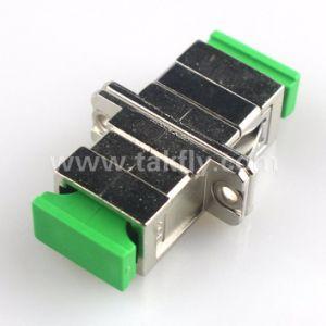 0.2dB Takfly Metal Sc APC Fiber Optic Adapter pictures & photos