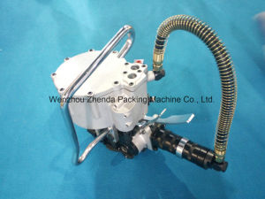 Pneumatic Air Steel Strapping Machine for 1-1/4′′mm pictures & photos