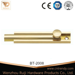 Furniture Bolt Tower Bolt Sliding Bolt with Round Head (BT-2011) pictures & photos