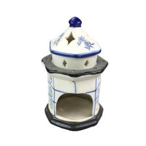 Lighthouse Design Ceramic Incense Burner pictures & photos