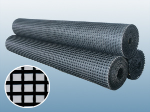 Bitumen Coated Fiberglass Geogrid for Reinforcing Asphalt Pavement pictures & photos