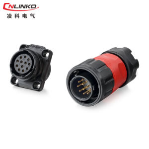 Cnlinko 9pin Terminal Plug and Panel Mount Socket Connector for Signal Equipment pictures & photos