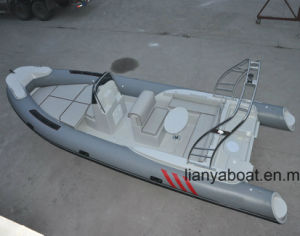 Liya 22FT Military Fiberglass Hull Inflatable Boat Made in China pictures & photos