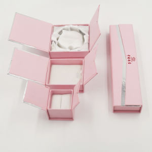 Pink Color Cardboard Paper Gift Packaging Box (J11-E3) pictures & photos