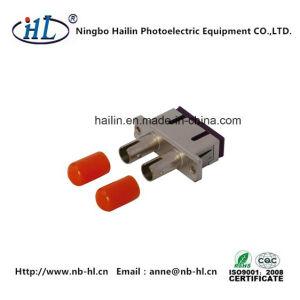 Sc-St Duplex Multimode Fiber Optic Adapter pictures & photos