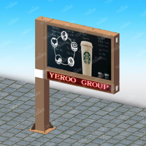 Advertising Double Sided Outdoor Scrolling Billboard with LED Display pictures & photos