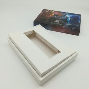 Newest Selling Custom Design Paper Cutting Matt Blank Game Cards Yh342 pictures & photos