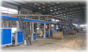 Wj-120-1800-I 5 Layer Corrugated Paperboard Production Line pictures & photos