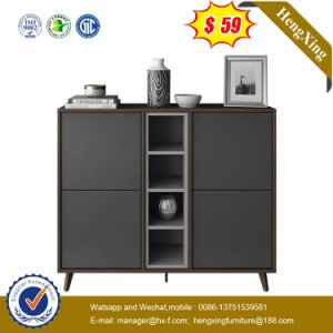 Double Color Side Cabinet Multifunctional Storage Living Room Furniture pictures & photos